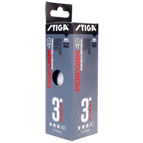 Stiga Perform 3-star 40+ 3-pack