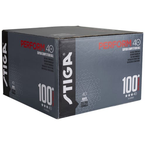 Stiga Perform 3-star 40+ 100-pack