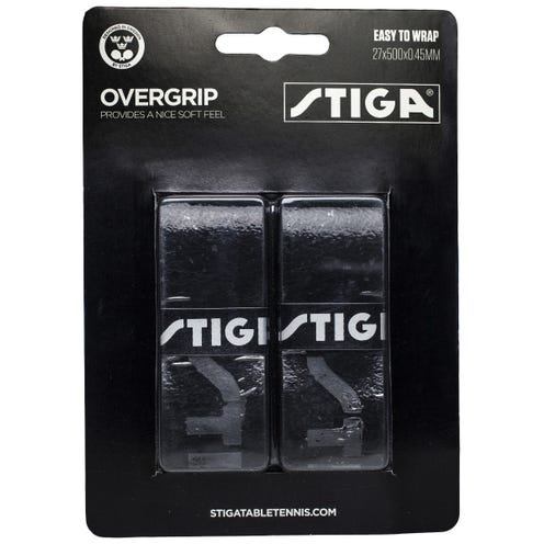 Stiga Overgrip Black 2-pack