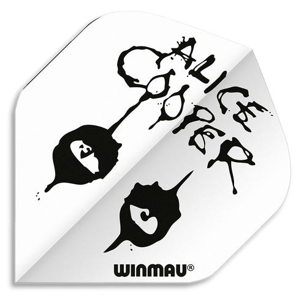 Winmau Rhino Alice Cooper White