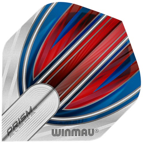 Winmau Prism Alpha Red & White