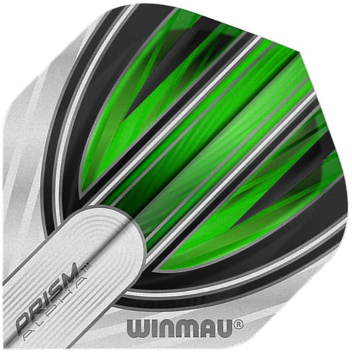Winmau Prism Alpha White & Green