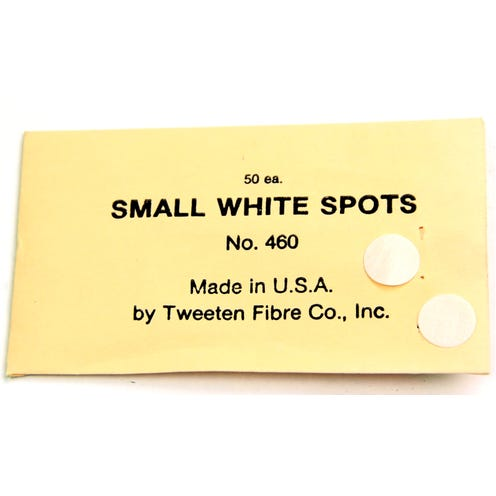 Table Markers White 10-pack