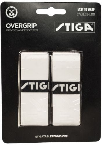 Stiga Overgrip White 2-pack