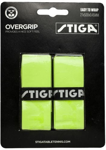 Stiga Overgrip Green 2-pack