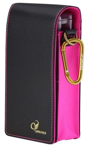 Cosmo Fit Container Black/Pink