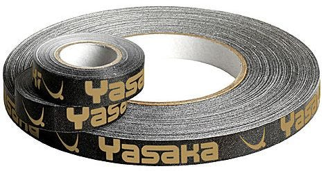 Yasaka Edgetape Black/Gold 10mm x 5m