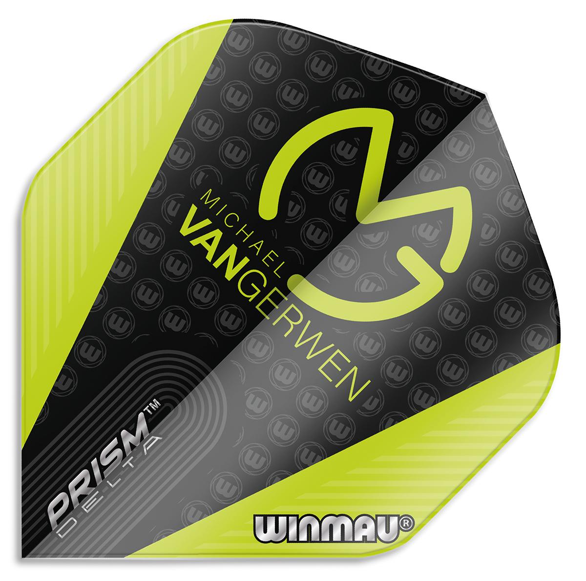 Winmau Prism Delta MvG Black/Green