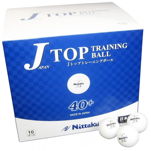 Nittaku J-Top Training 40+ 120-pack