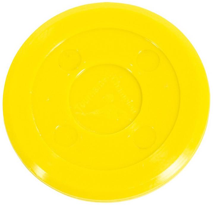 Air Hockey Puck Tournament Yellow